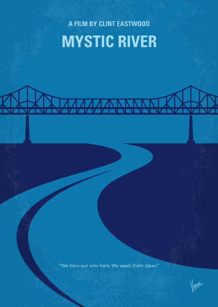 Mystic River 2003 Minimal Movie Poster By Chungkong