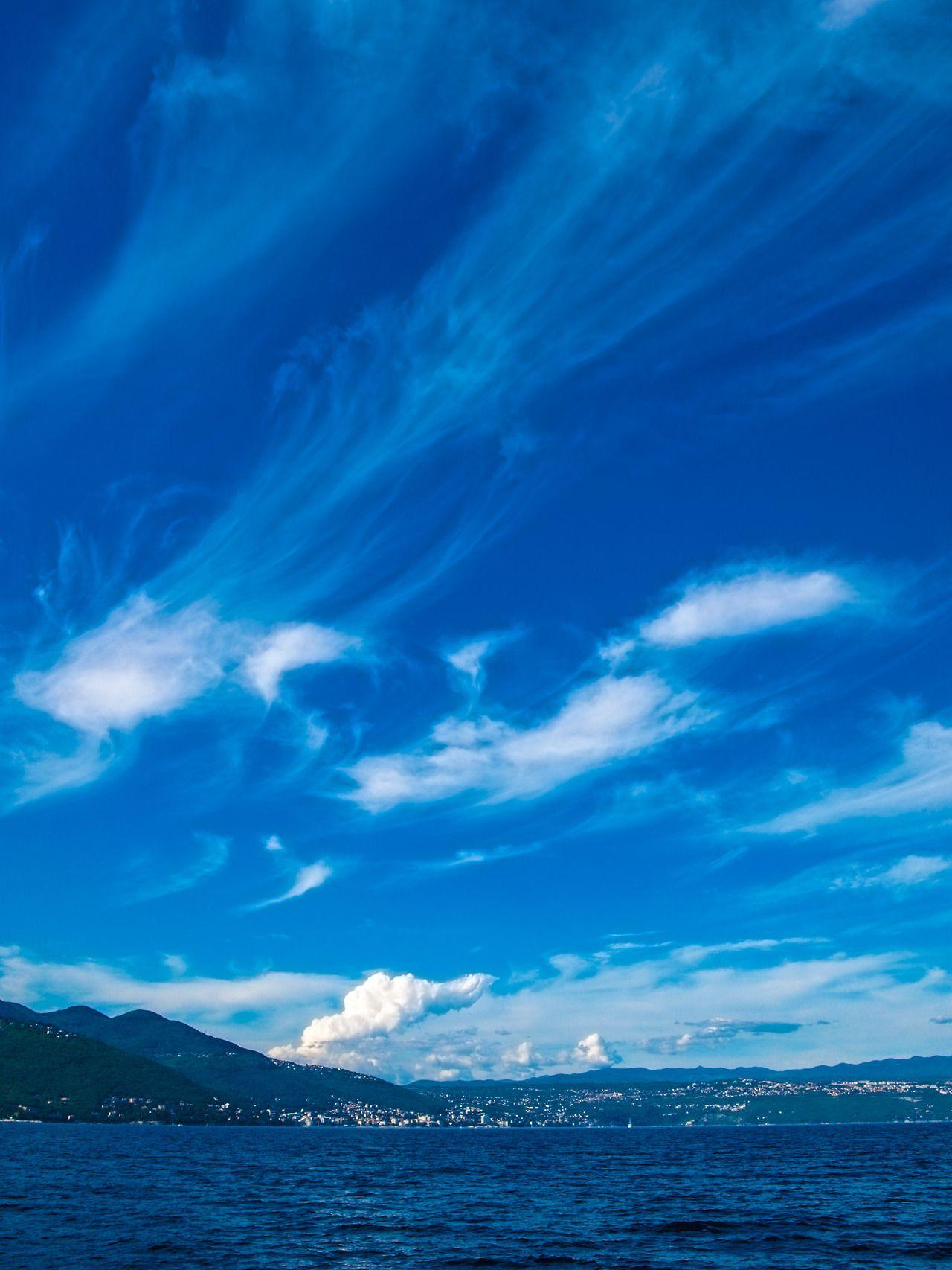 Opatija 082011, Opatija cloud shreds Kroatien