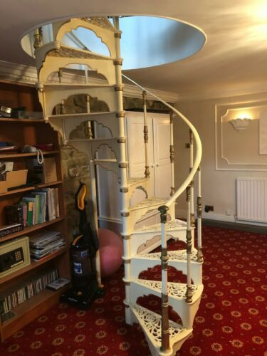 Best Antique Cast Iron Spiral Staircase Hayward Brothers 400 x 300