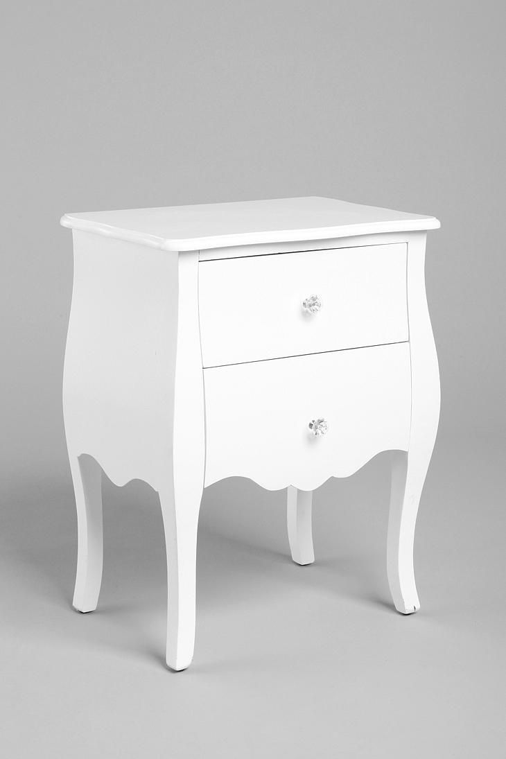 White Lacquer Side Table - $179 (SALE: $149.00) @ Urban Outfitters