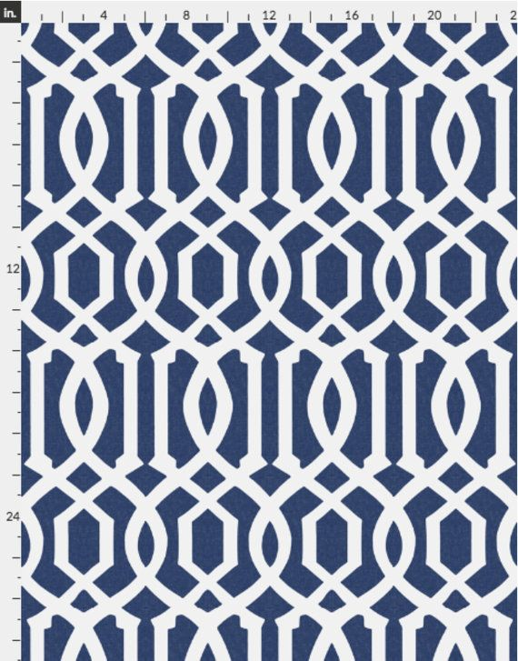 Blue Wallpaper Victoria Trellis In Navy Linen By Willow Lane Etsy Blue Wallpapers Curtain Fabric Patterns Wallpaper