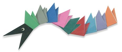 Origami A Dragon Instructions
