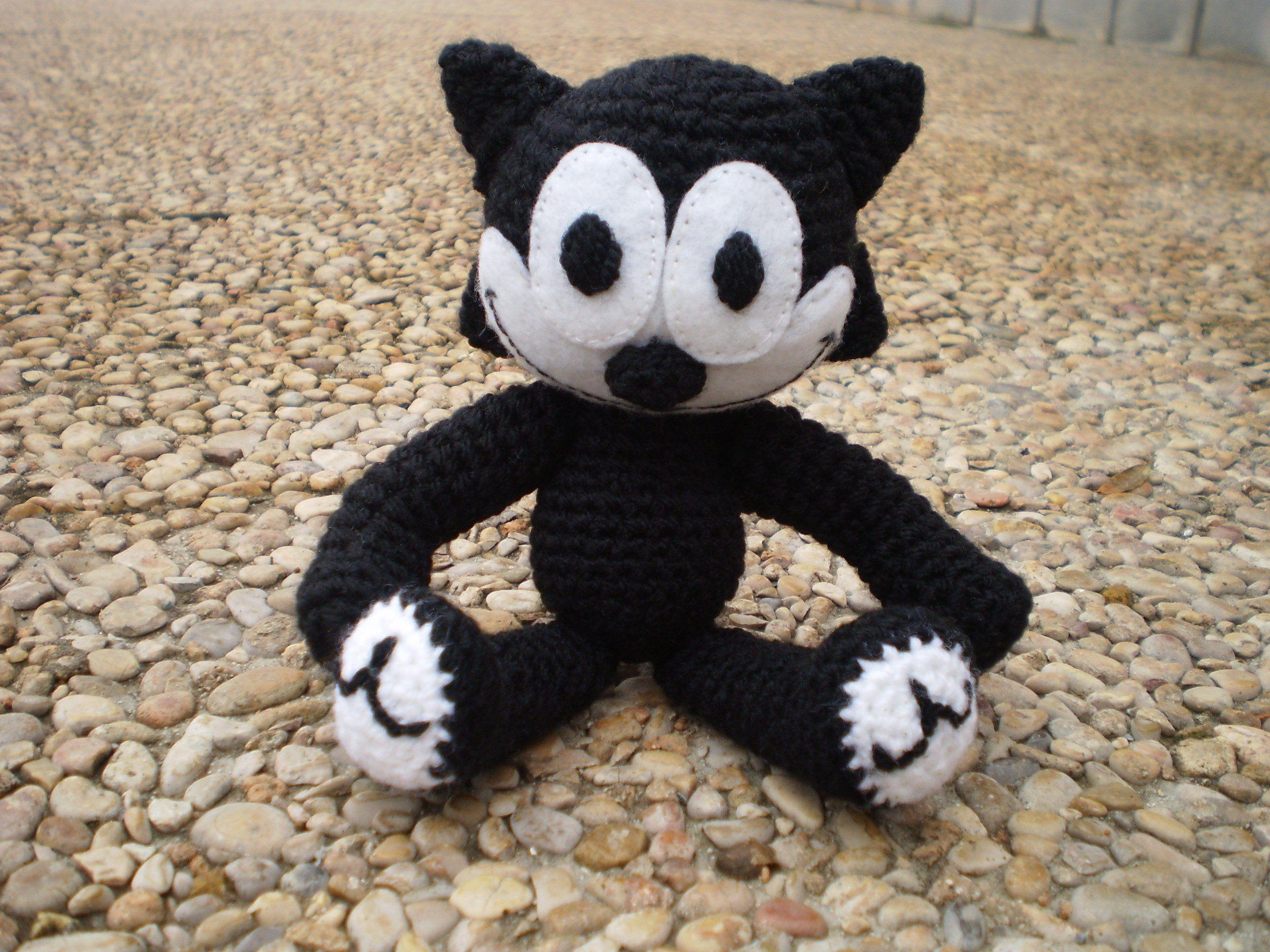 Amigurumi Gato Negro : El gato félix mis amigurumis pinterest el gato gato y ganchillo