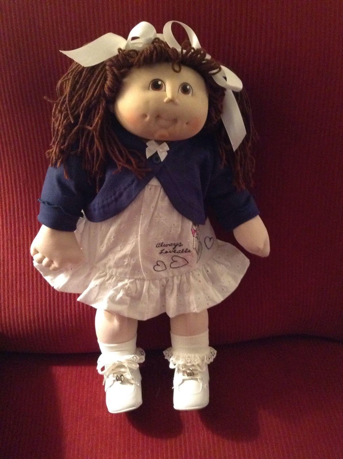 Cabbage Patch Like 19 Soft Body With Vinyl Head Doll Ggreduced From 48 50 Ebay Cabbage Patch Dolls Vintage Cabbage Patch Dolls Cabbage Patch