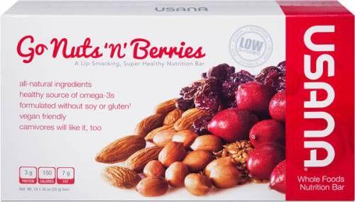 Gluten-Free Snacks with Vans Crackers Usana Bars