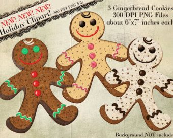 Gingerbread Wonderland  Christmas clipart  Clip Art and