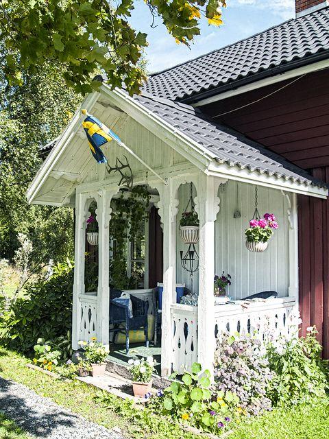 Veranda sweden schweden veranda skandinavien - Skandinavisches gartenhaus ...