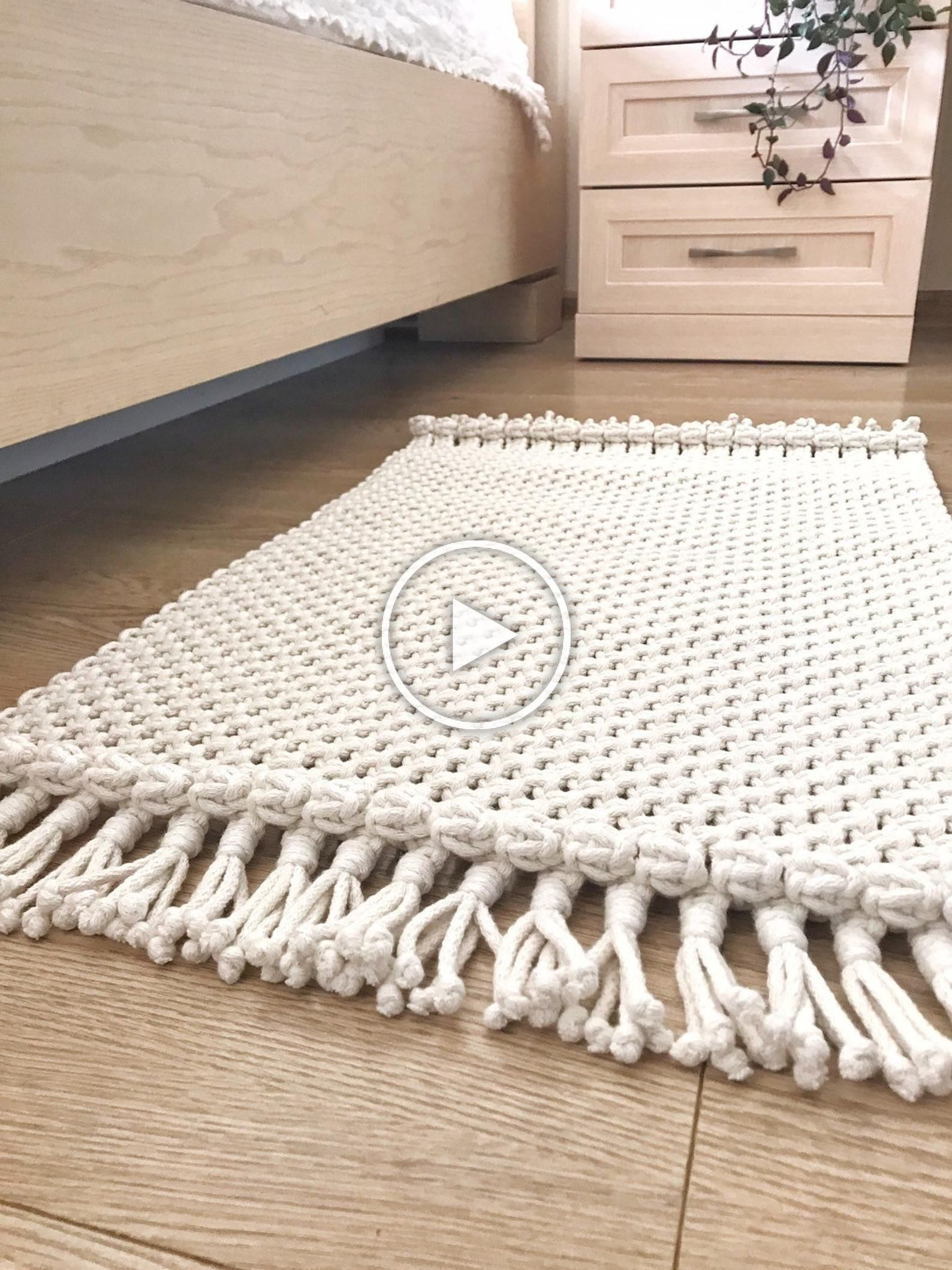 Macrame Carpet Mawgie | Diy rug, Macrame design, Bohemian