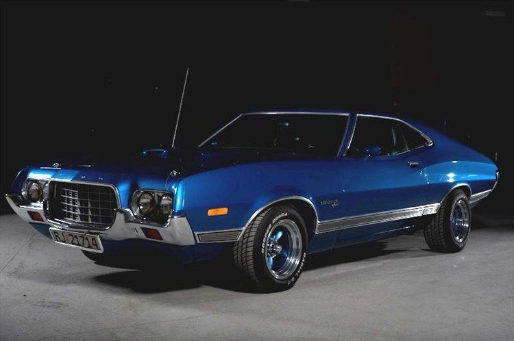 1972 Ford Gran Torino Sport Muscle Cars Ford Torino Old Muscle