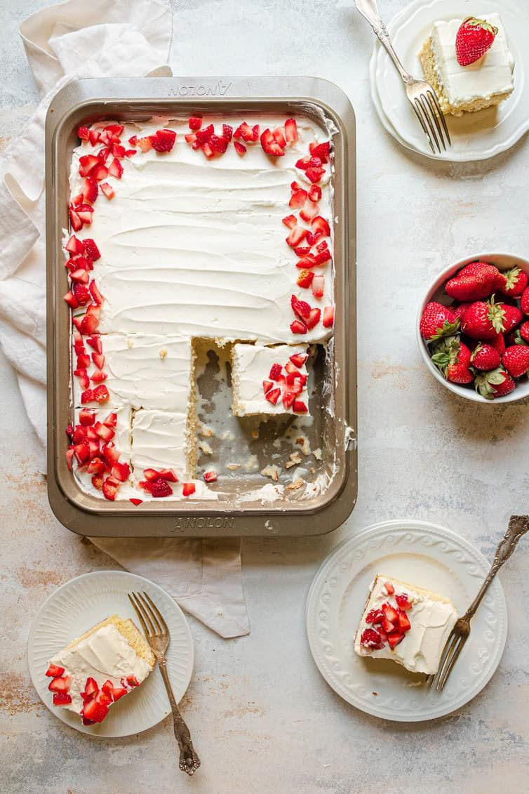 Tres Leches Cake Recipe | Brown Eyed Baker