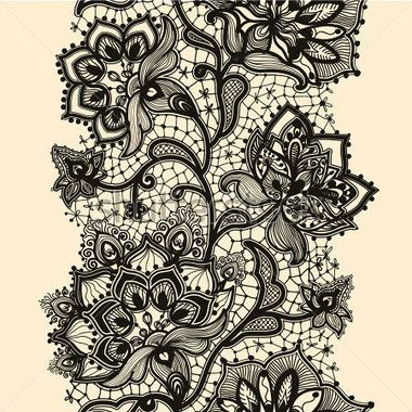 European Lace Pattern 02 Clip Arts Clipart Me With Images Lace Garter Tattoos Lace Tattoo Garter Tattoo