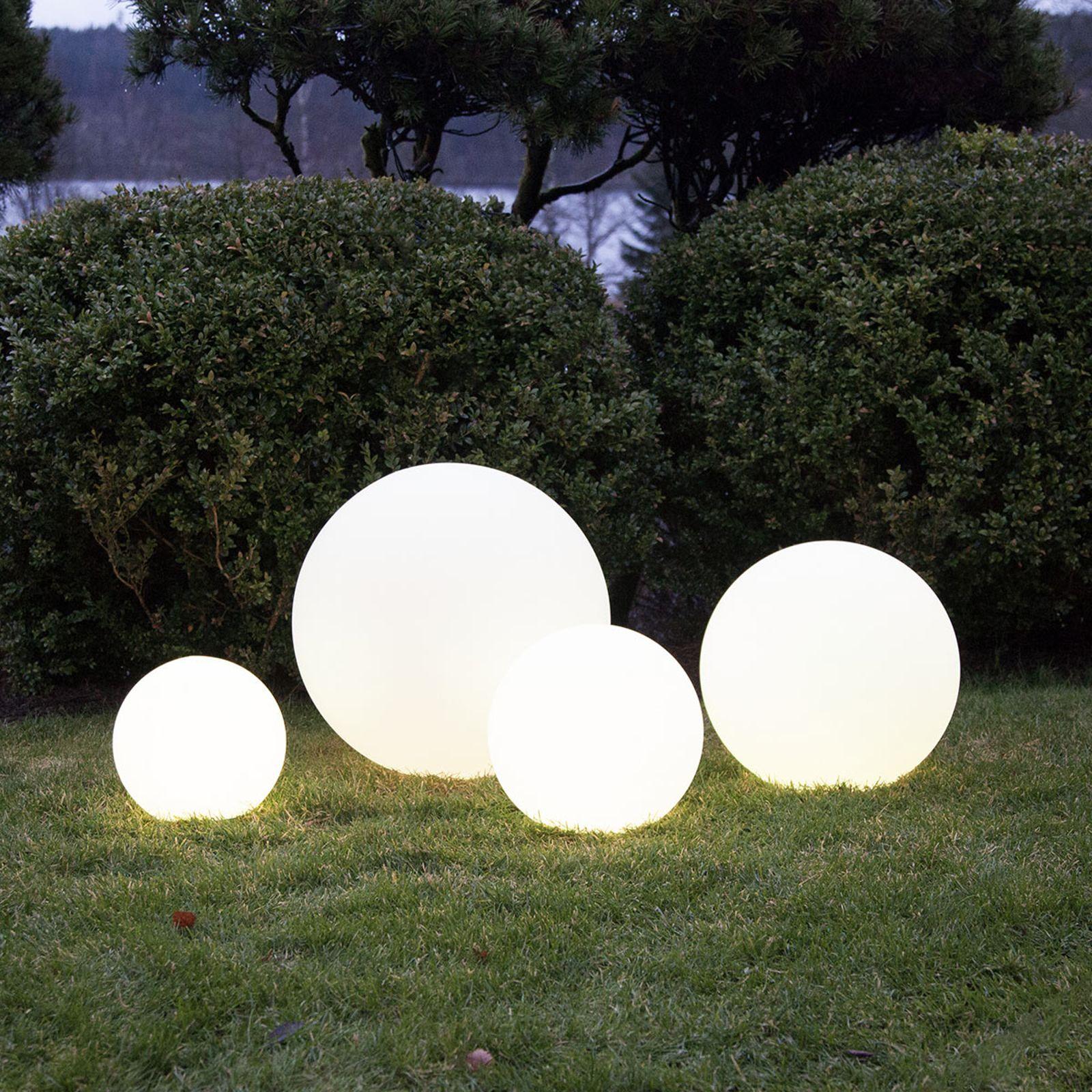 Sphere Led Pratique Twilights Avec Telecommande Leuchtkugeln Garten Kugelleuchten Garten Solarleuchten Garten