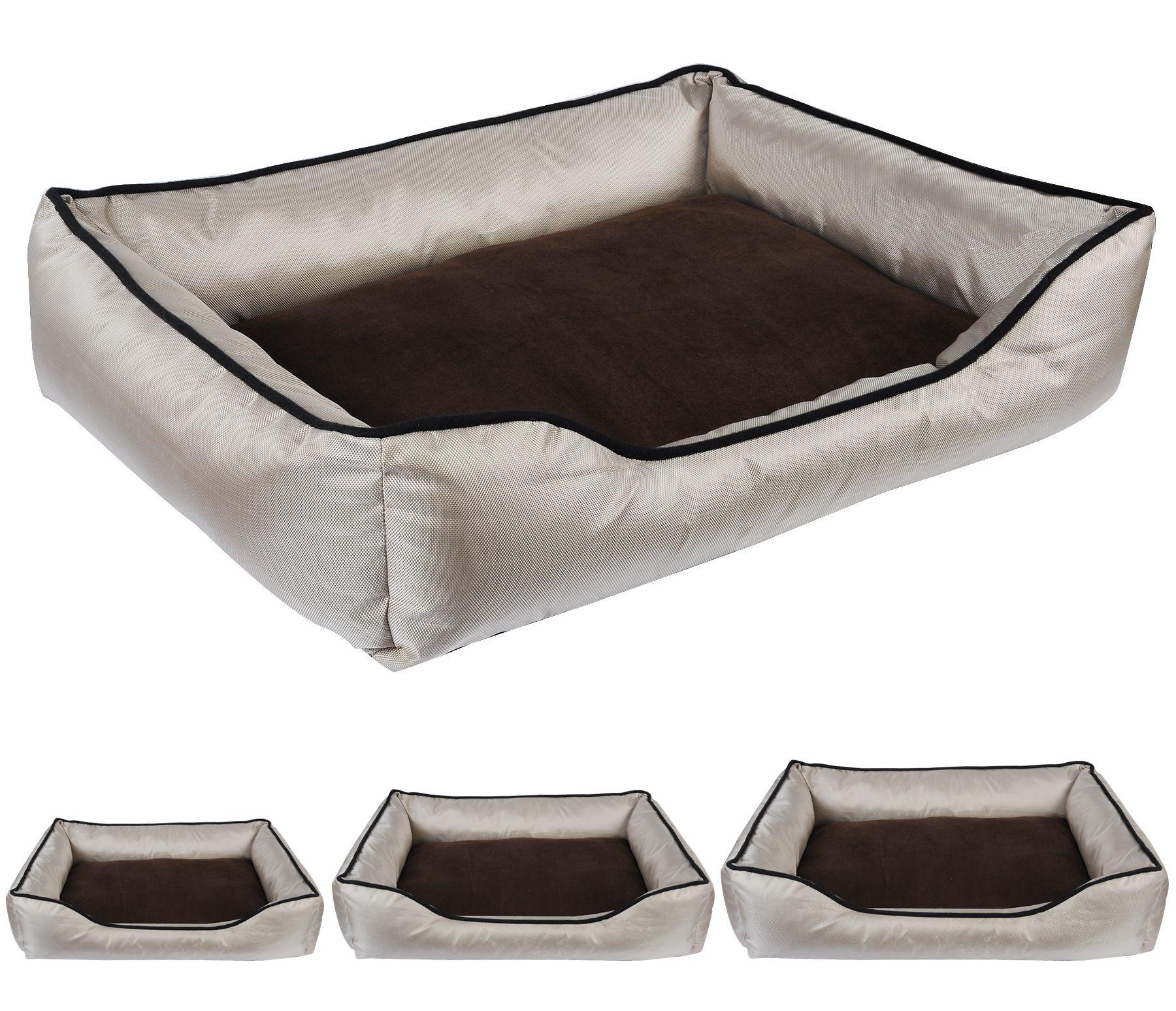Hundekissen Hundekorb aus weicher Polyesterwatte Tierbett Hunde Bett ...
