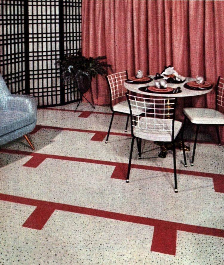 100 Fabulous 50s Floors Of Linoleum Vinyl In 2020 Home Decor Retro Furniture Retro Appliances