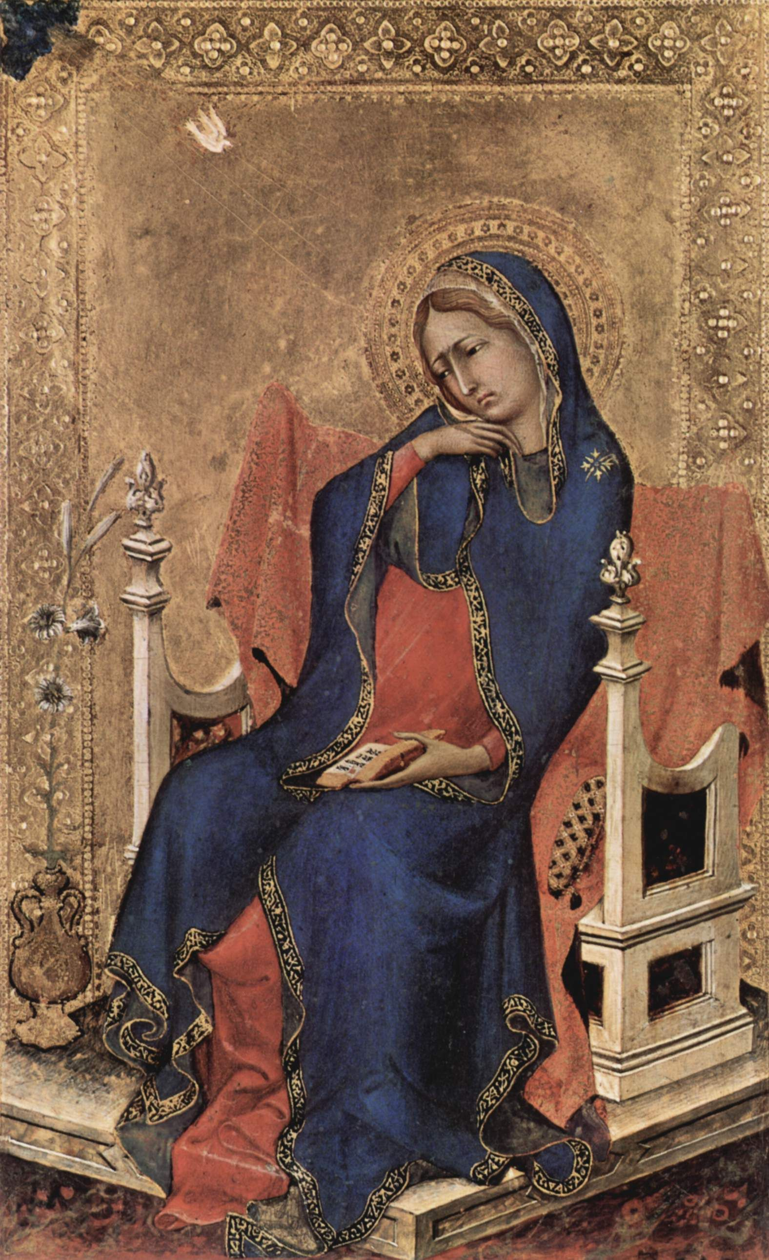 a description of simone martini an italian painter and a mater of the sienese school Simone martini paintings   image simone martini maesta detail of st michael   simone martini italian painter, sienese school (b find this pin and more on.