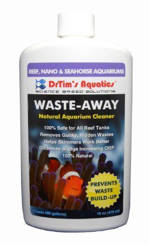 15 46 20 00 Drtim S Aquatics Waste Away Natural Aquarium Cleaner For Reef And Nano Aquariums 8 Ounce Waste Away N Seahorse Aquarium Aquarium Nano Aquarium