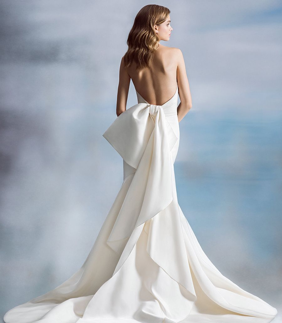 2018 Wedding Dress Trends Clean And Classic Haute Bride San Francisco Bay Area Wedding Dress Boutique And Jewelry Designer Bow Wedding Dress 2018 Wedding Dresses Trends Wedding Dress Trends