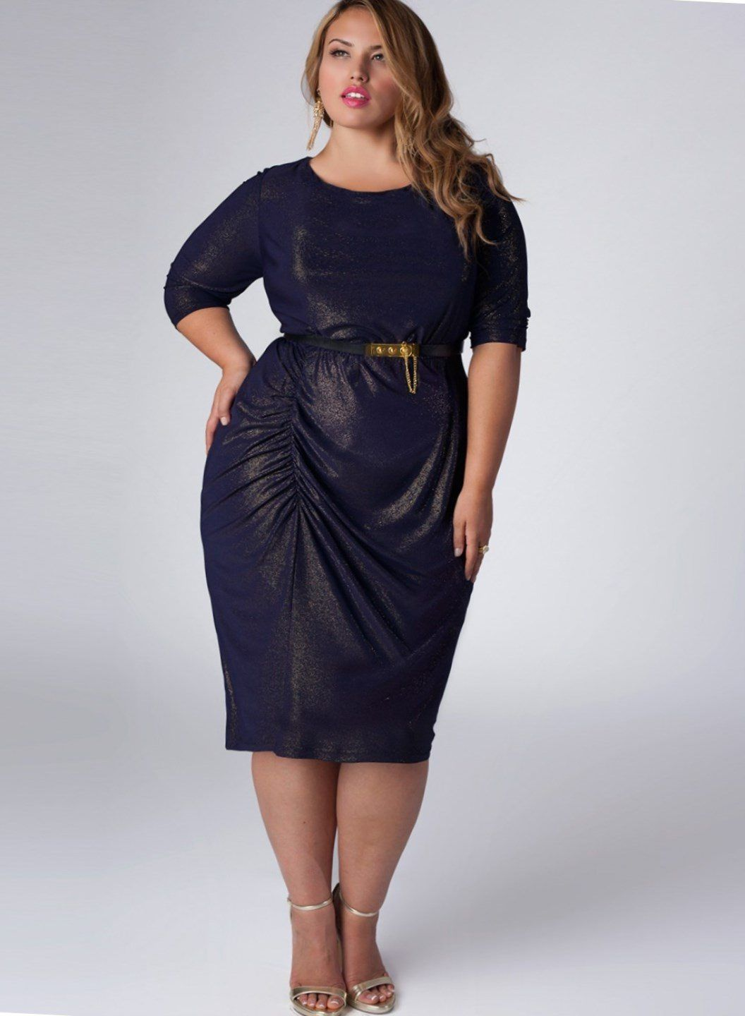 Modern plus size cocktail dresses