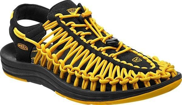 Keen Uneek Black Keen Yellow Sport Sandal Mens sizes 8-14 NEW!!!  KEEN   SportSandals