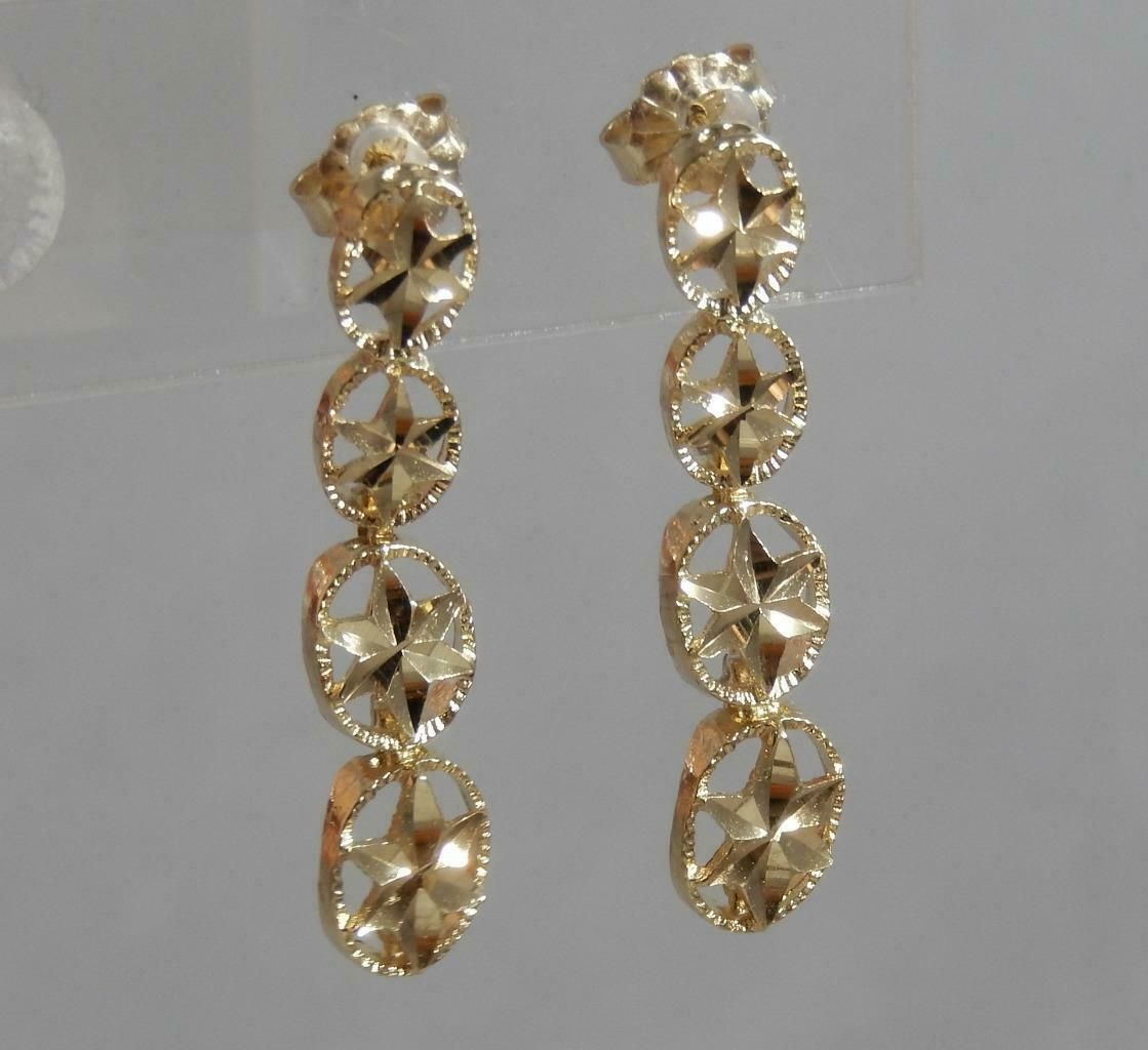 Pin On Yellow Gold Earring