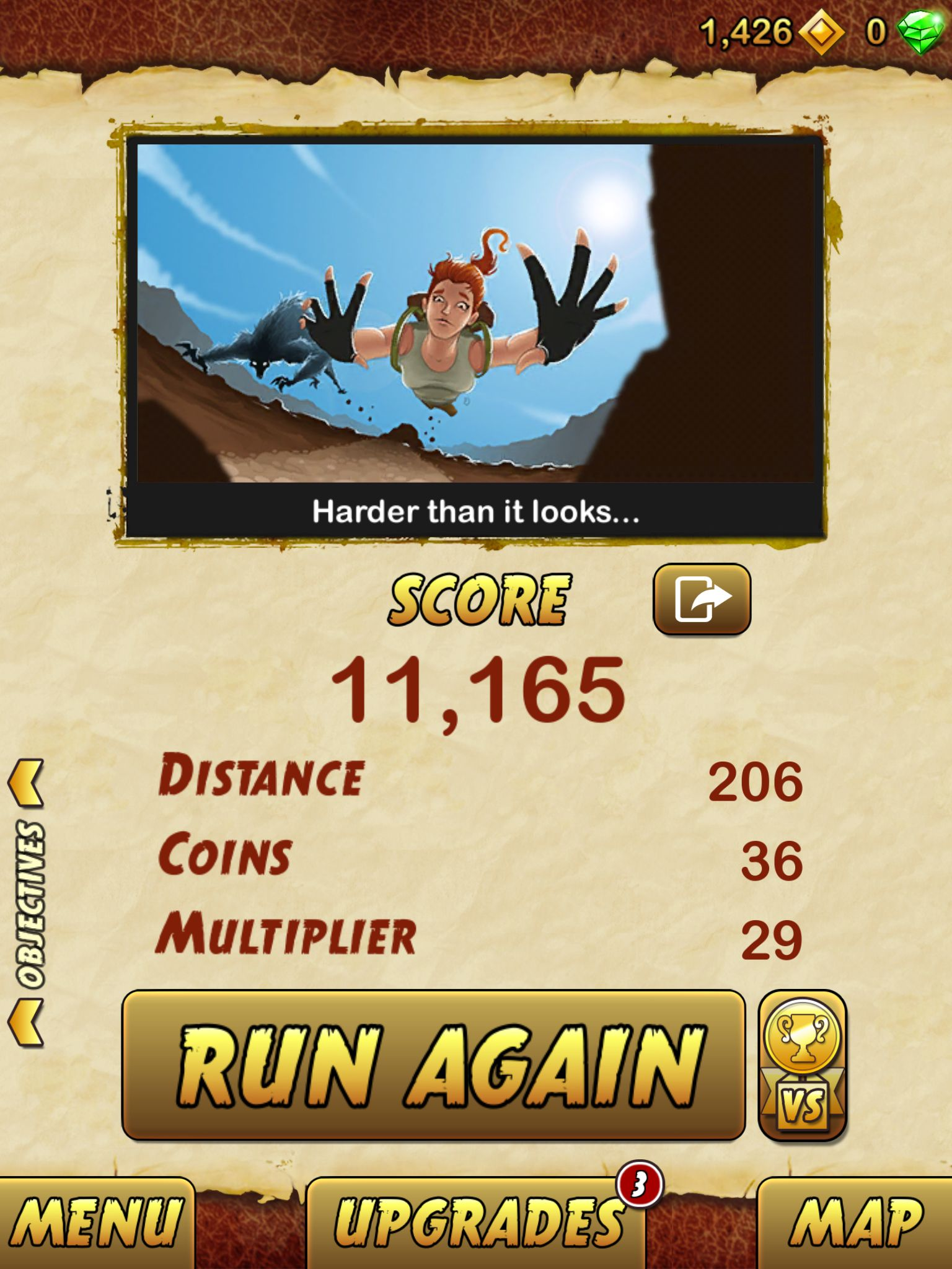 I got 11165 points while