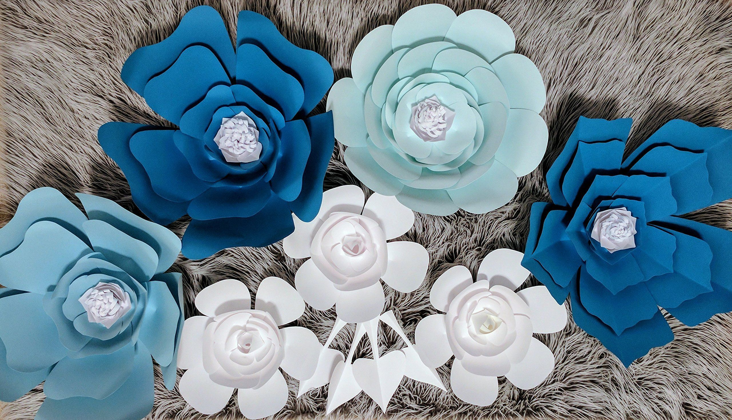 Paper Flowers Combo Set for Backdrops