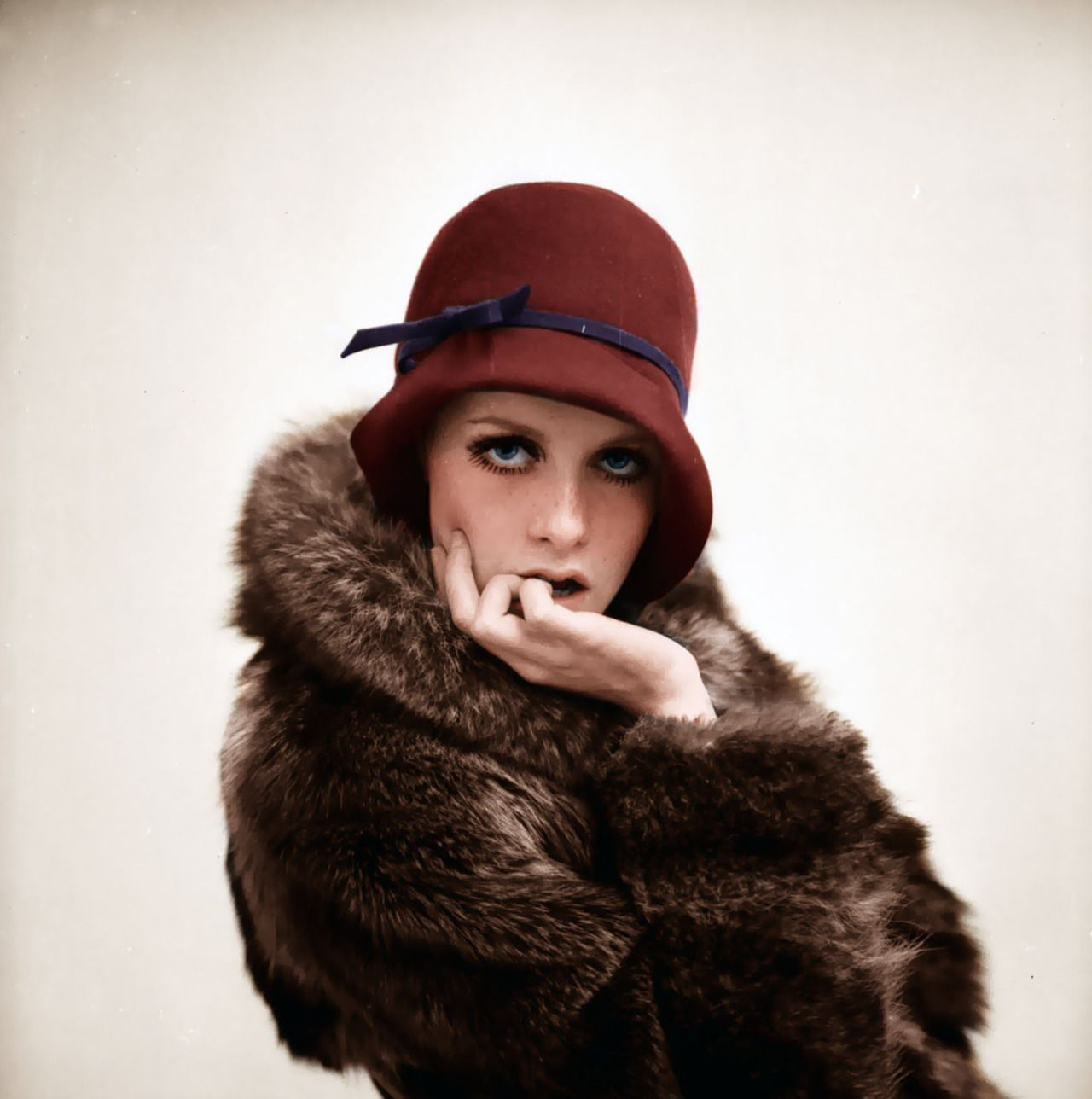 Twiggy - photo by Terry Fincher - 1966.