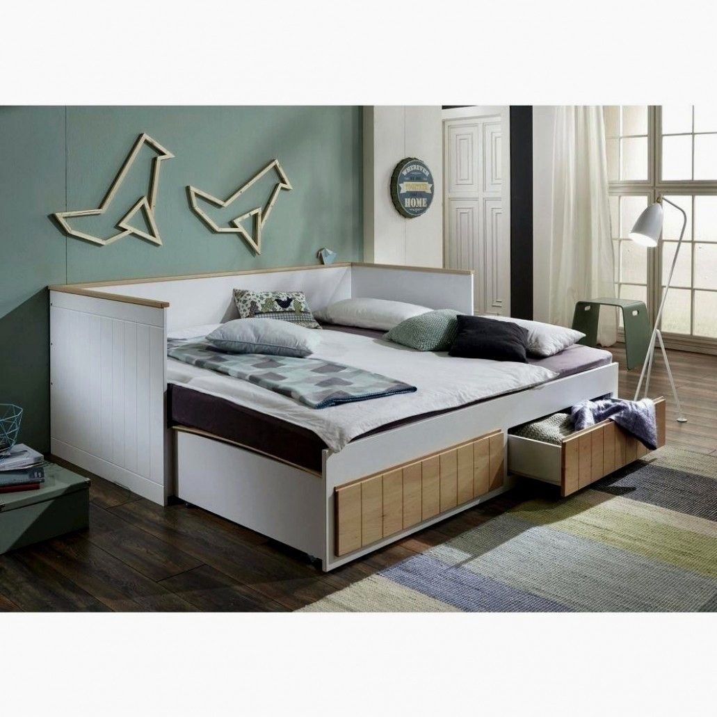 50 Frais Bett Ausziehbar Gleiche Hohe La Photographie In 2020 Daybed With Trundle Guest Bed Bed