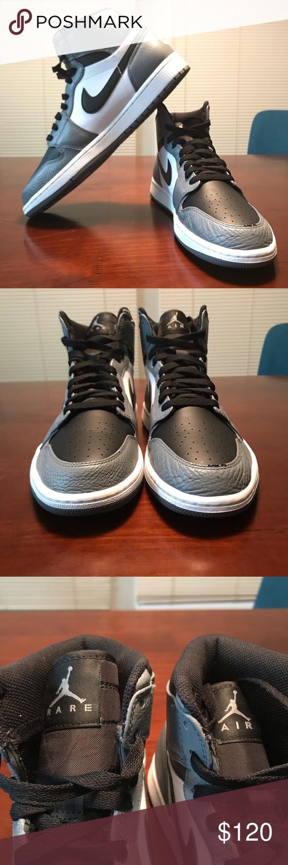 "c8d5eb0f0300ea 🔥Air Jordan 1 High Rare Air ""Cool Grey""-11🔥 Air Jordan 1 High Rare ..."