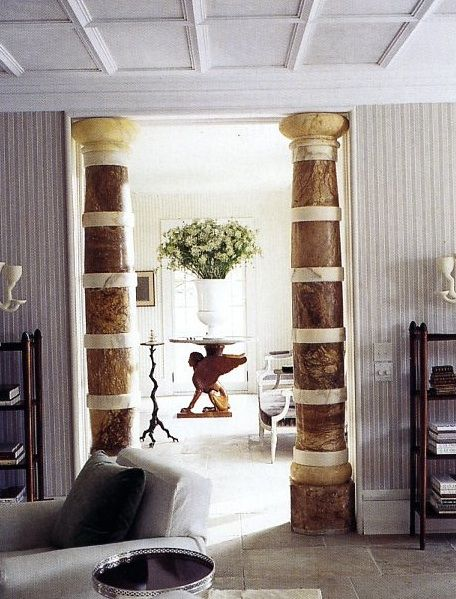 th century marble columns sills and huniford via mark  sites spectacular also