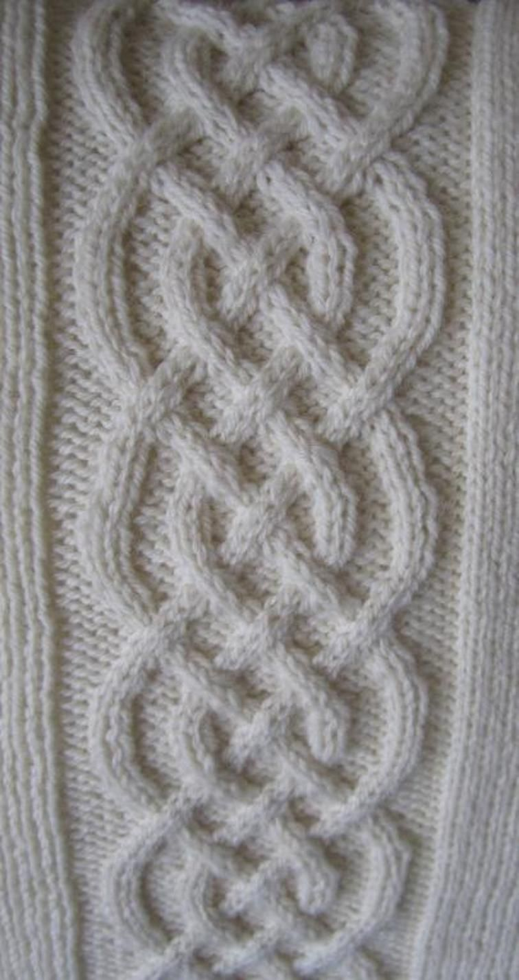 Celtic Knot Pillow Cover   Knot pillow, Celtic knots and Knitting ...