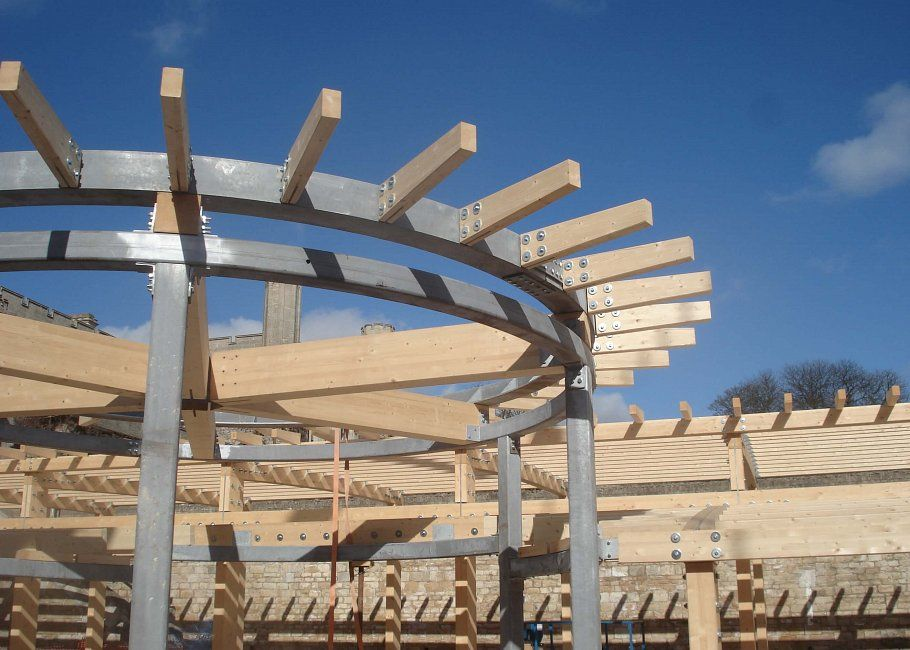 Good Glulam Glued Laminated Timber | Pasquill Roof Trusses