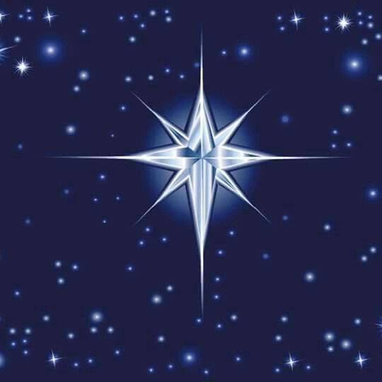 Estrella Del Cielo Navideno Estrellas De Navidad Estrella De Navidad Dibujo Dibujos De Estrellas