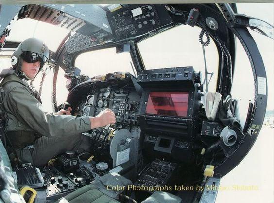 Grumman OV-1 Mohawk cockpit