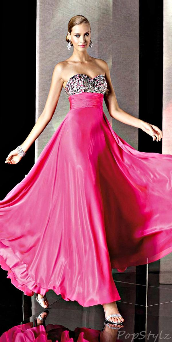 Alyce Designs 35510 Strapless Gown   My Style   Pinterest   Rosas ...
