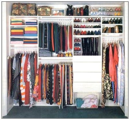 Bedroom Closets Designs Closet Storage Ideas  Bedroom Closet Organizers  Home Storage