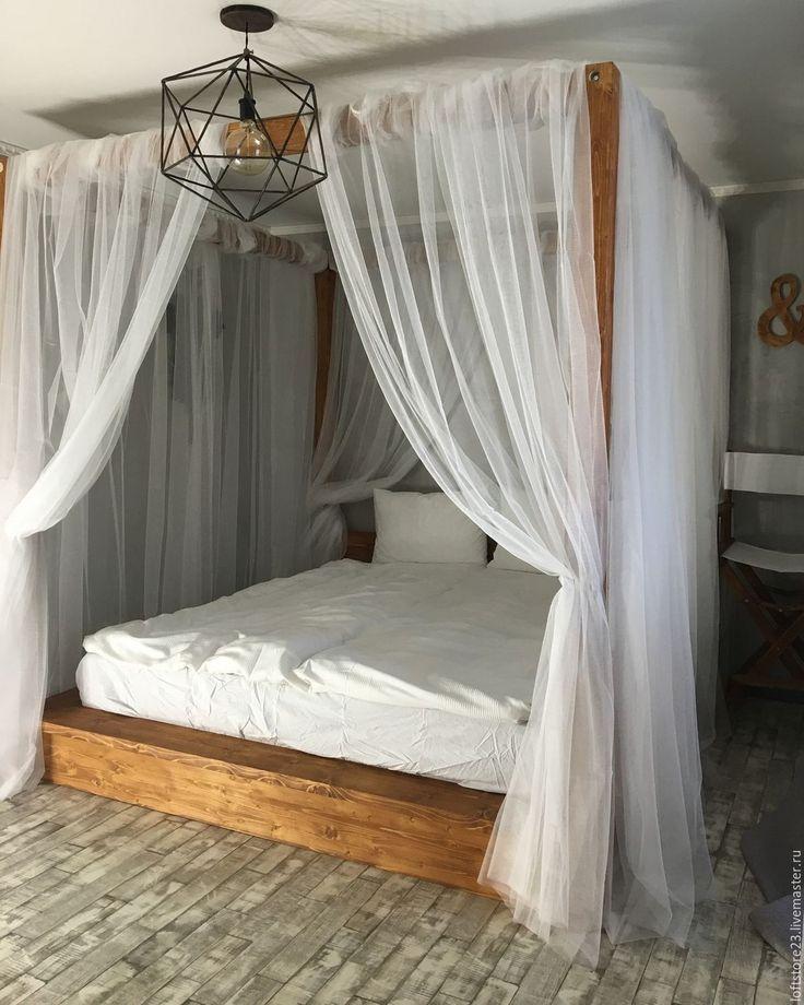 35 idées de lits à baldaquin glamour pour une chambre romantique