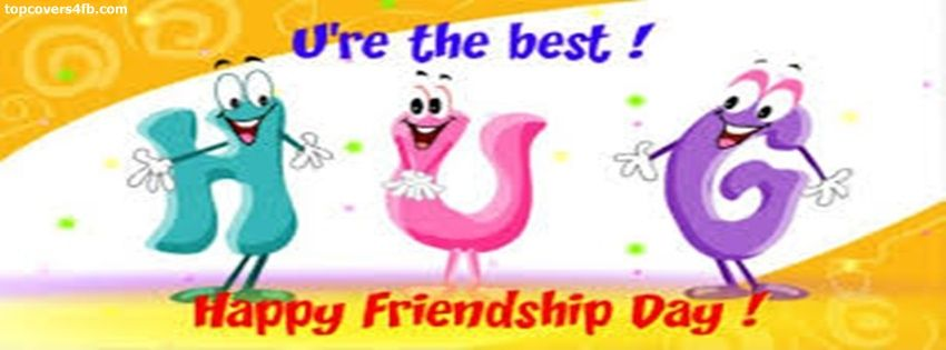 Get Our Best Friendship Day Hug Facebook Covers For You To Use On Your  Facebook Profile