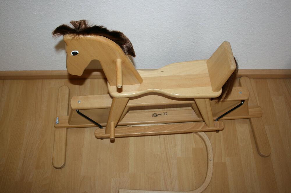 Schaukelpferd Holz Geuther Swingly   eBay