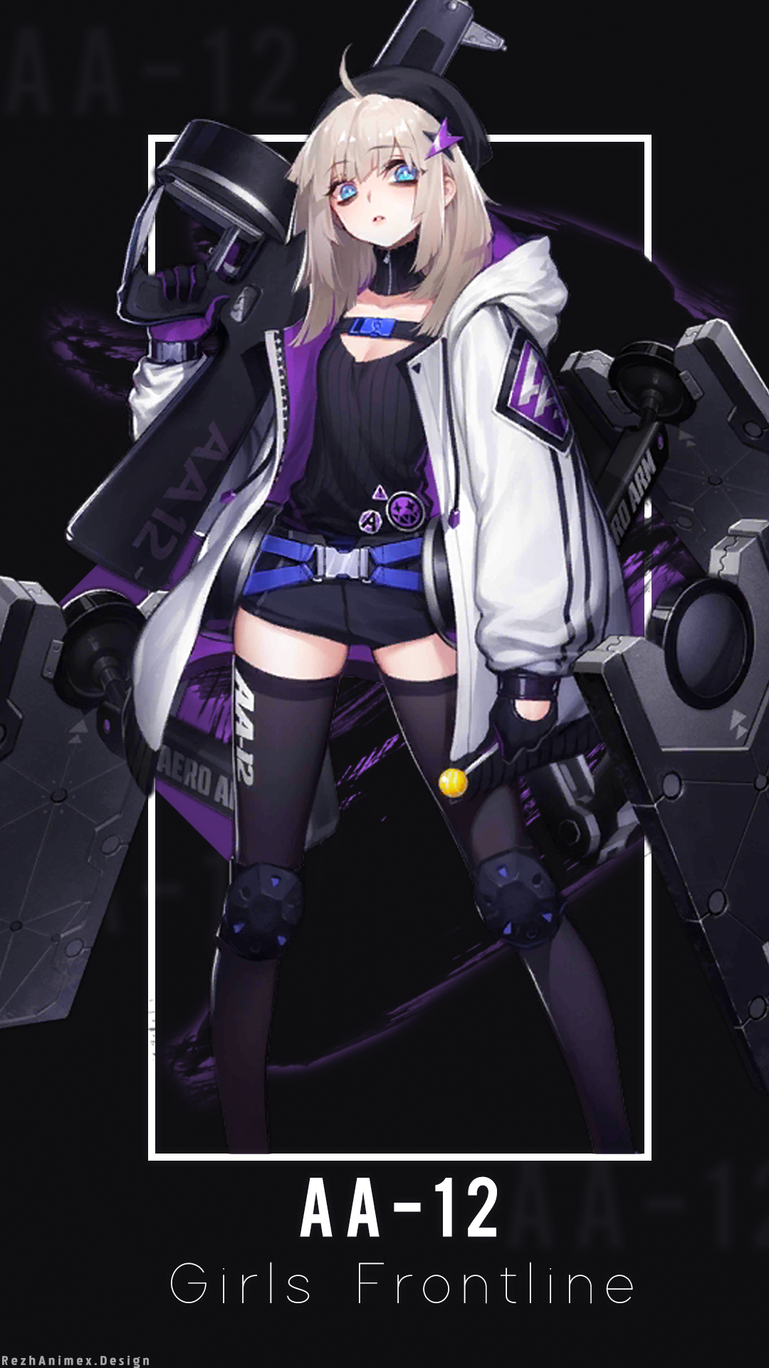 AA12 Wallpaper Android ( Girls Frontline ) by