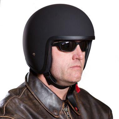 Open Face Helmet Adr Legal Low Profile Chopper Helmet For