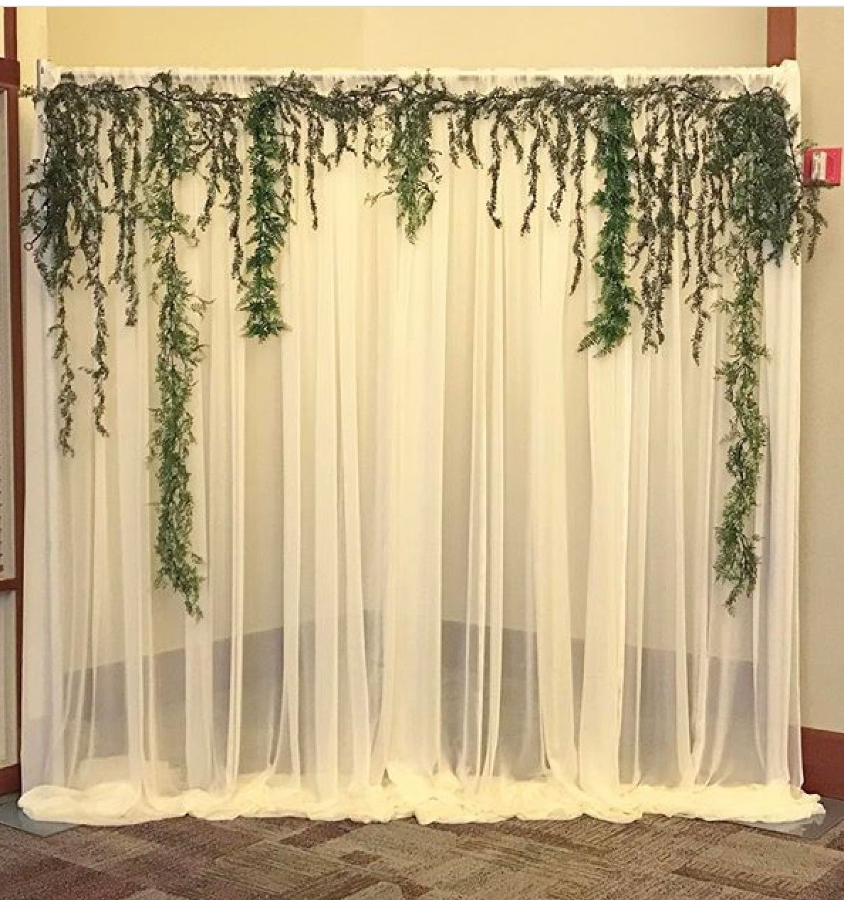 sheer backdrop bridal shower backdrop bridal shower rustic rustic bridal shower decorations wedding