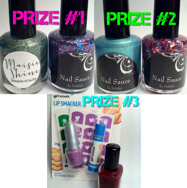 Lace & Lacquers: 750 FACEBOOK LIKES GIVEAWAY! ends 8-31*