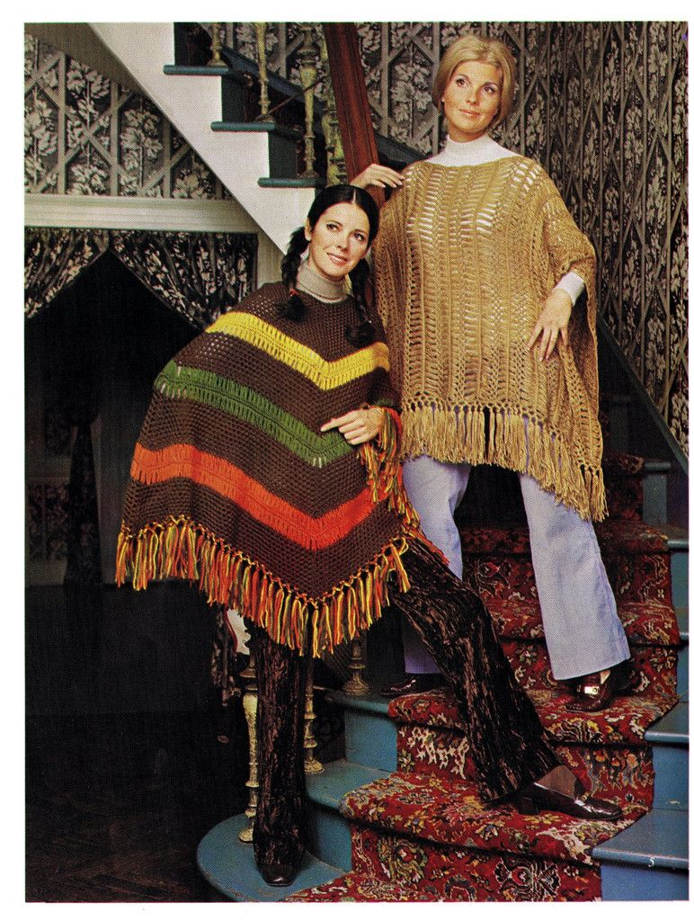 Vintage Hairpin Lace Crochet Patterns Stole Ponchos Skirts Pillows ...