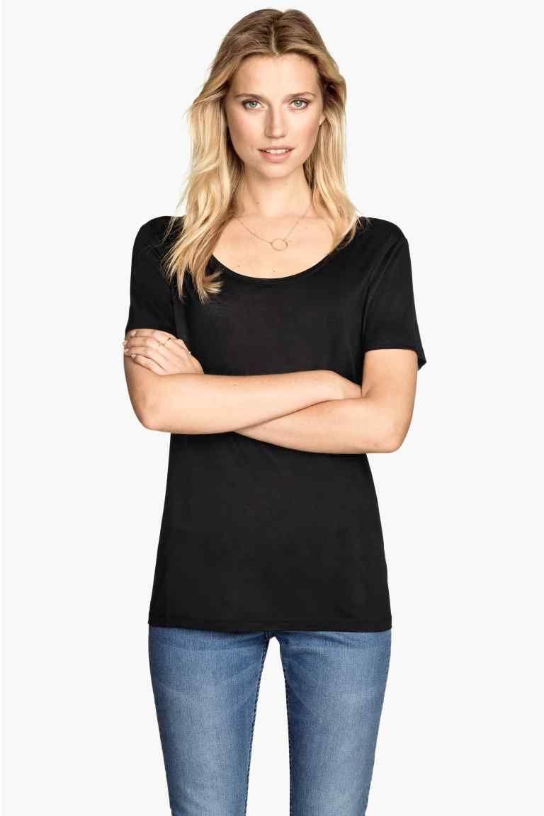 T-shirt a maniche corte   H&M