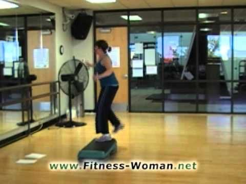 Free Basic Step Bench Aerobic Exercise Turnstep Diagonal Routine