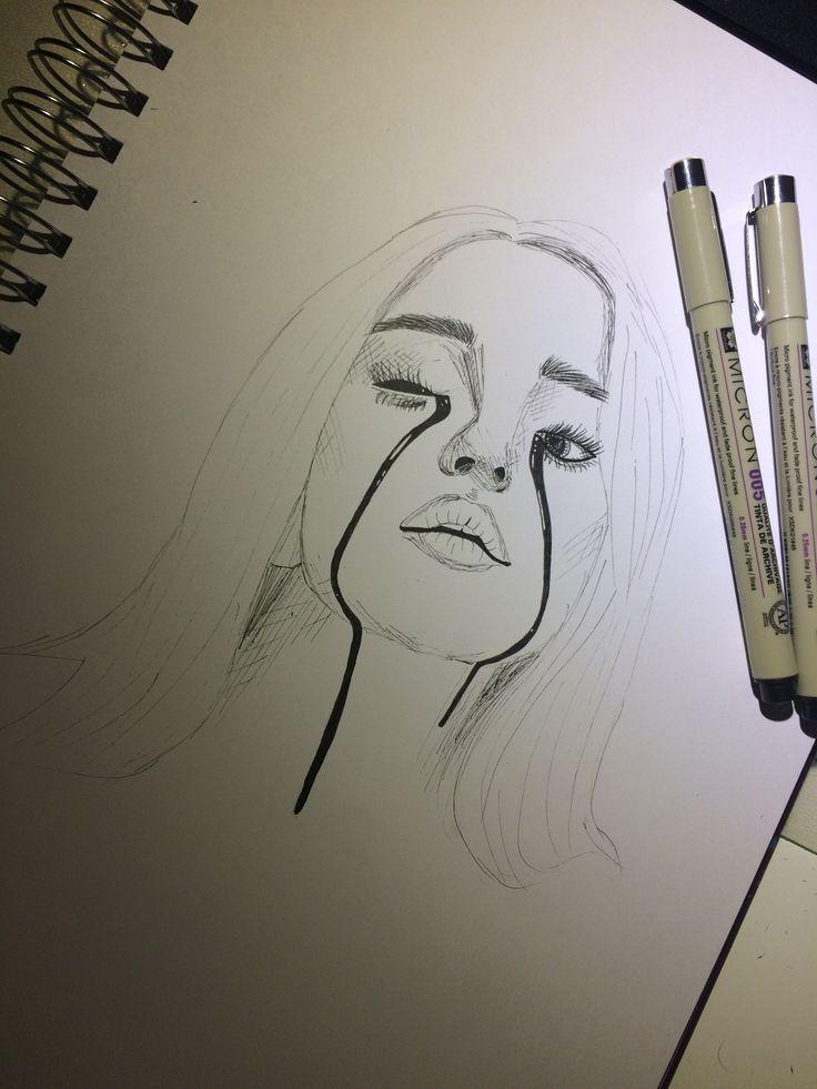 Billie Eilish sketch #drawingsideasRealistic