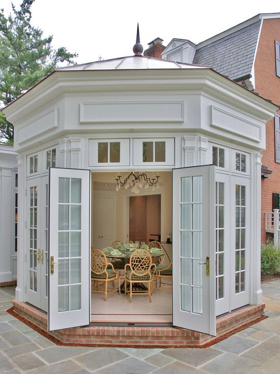 Sunroom Addition House Design Conservatory Design: Pin By YB Normyl On Architecture In Houses, Housing, Homes, Casa's, Estates