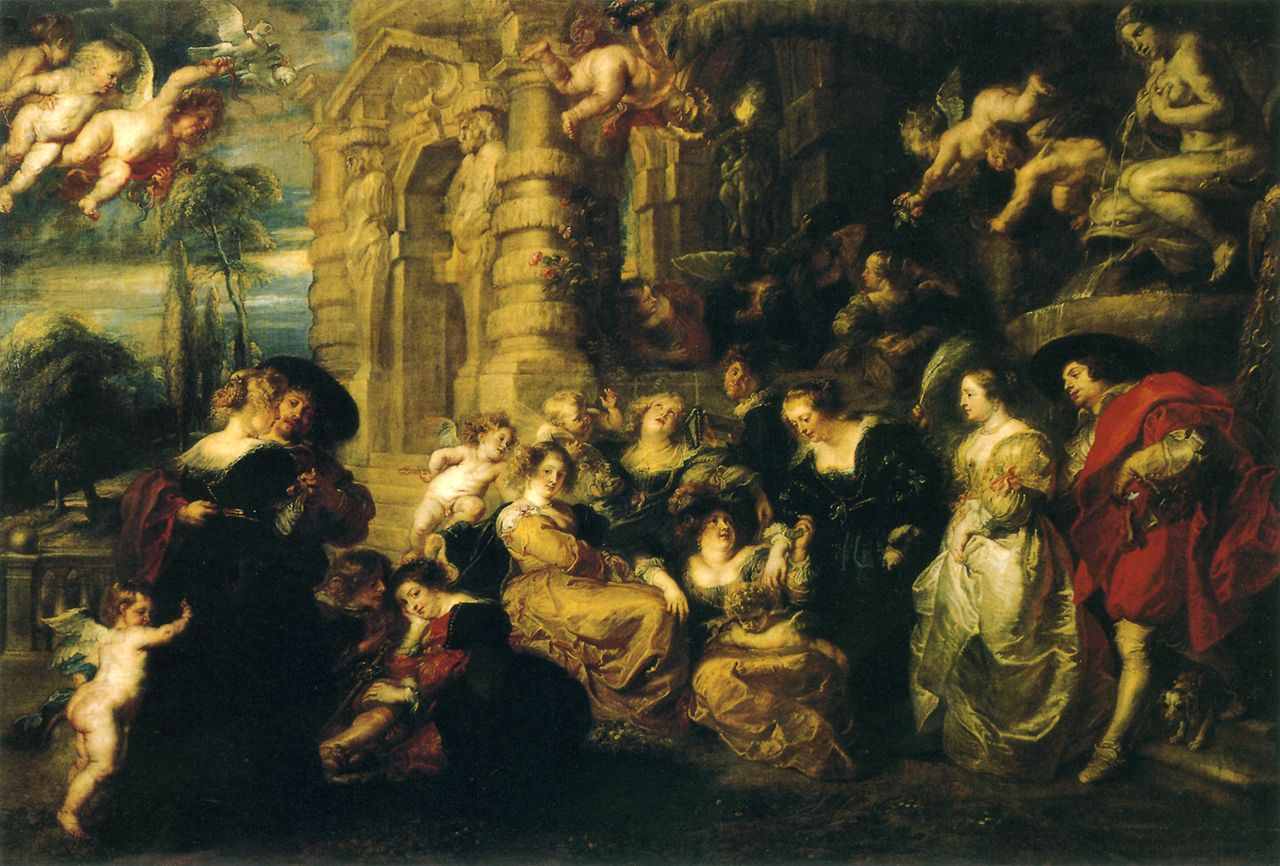 1632(65)_Peter Paul Rubens-The Garden of Love   art history ...