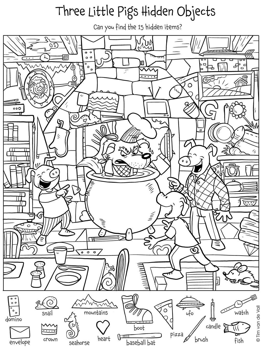 Three-Little-Pigs-Hidden-Objects.jpg 1,023×1,364 pixels